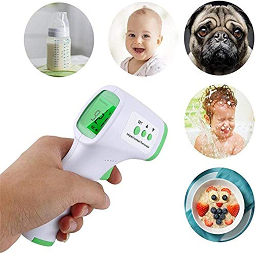 Non-Contact ???????????????????????????? ???????????????????????????????? ????????????????????????????????????????-High Sensitivity Temperature Alarm-2 Modes and 32 Data Memory for Baby, Kids&Adults