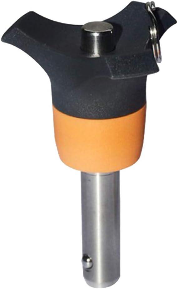 Klemml/änge Optional Edelstahl Kugelsperrbolzen /Φ 8 mm Steckbolzen 20mm