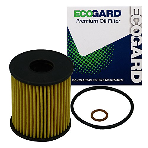 ECOGARD X5830 Cartridge Motor Oil Filter for Conventional Oil - Premium Replacement Fits Mini Cooper, Cooper Countryman, Cooper Paceman