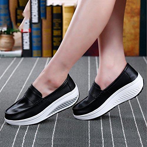 Zapatos Slip mujer y Primavera de Mocasines de conducci Zapatos Lona Ons B7rYqxBSWw