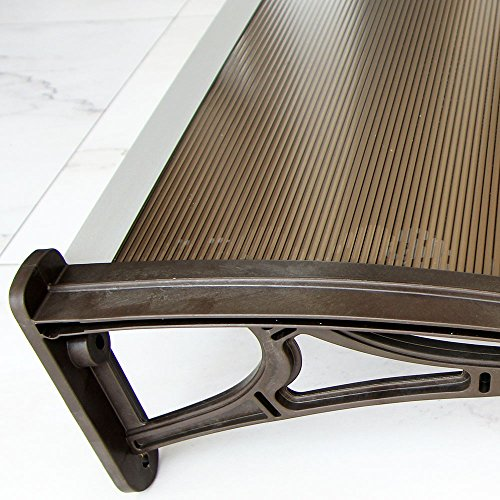 Polycarbonate Window Door Canopy Awning Diy Kit Pearl
