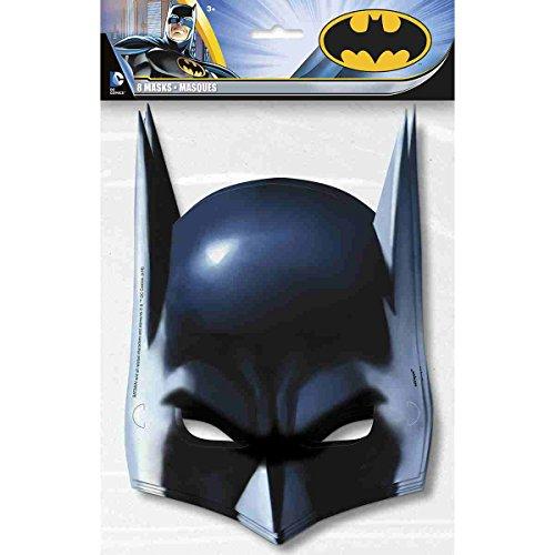 Batman Masks 8 Per pack