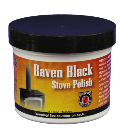 (MEECO'S RED DEVIL 402 Stove Paste, Black)