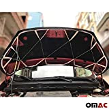 OMAC USA Front Hood Cover Mask Black Vinly Bonnet