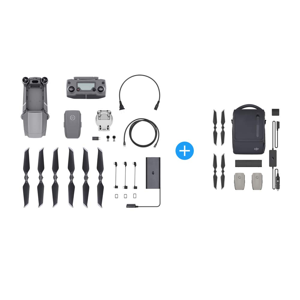 DJI Mavic 2 Zoom Drone Quadcopter with Fly More Kit Combo Bundle by DJI