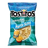 Tostitos 100% White Corn Restaurant Style Family Size Tortilla Chips, 18 oz