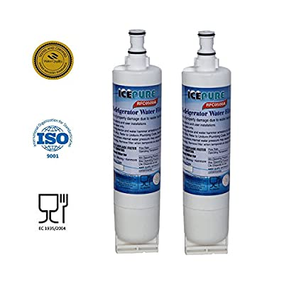 Premium Whirlpool 4396508, 4396510 Compatible Refrigerator Replacement Water Filter, Replacement PUR Water Filter for Kitchenaid Maytag Whirlpool Side By Side Refrigerator