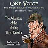 Bargain Audio Book - The Adventure of the Missing Three Quarter