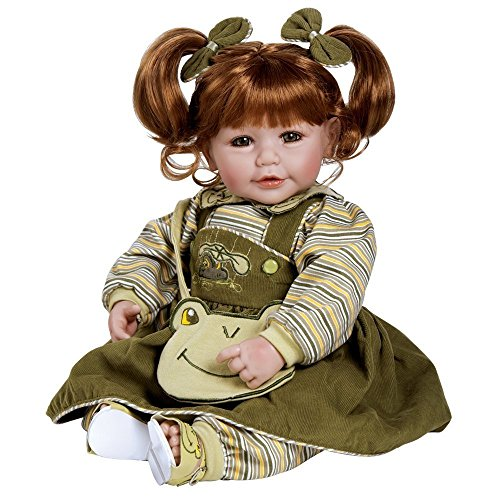 Plush Froggy - Adora Toddler Froggy Fun Girl 20