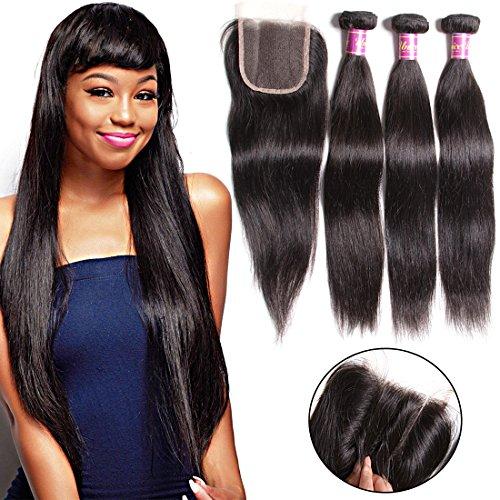Unice Hair Closure Brazilian Straight product image