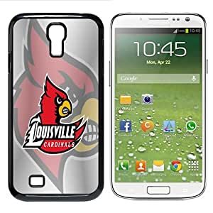 NCAA Louisville Cardinals Samsung Galaxy S4 Case Cover by supermalls