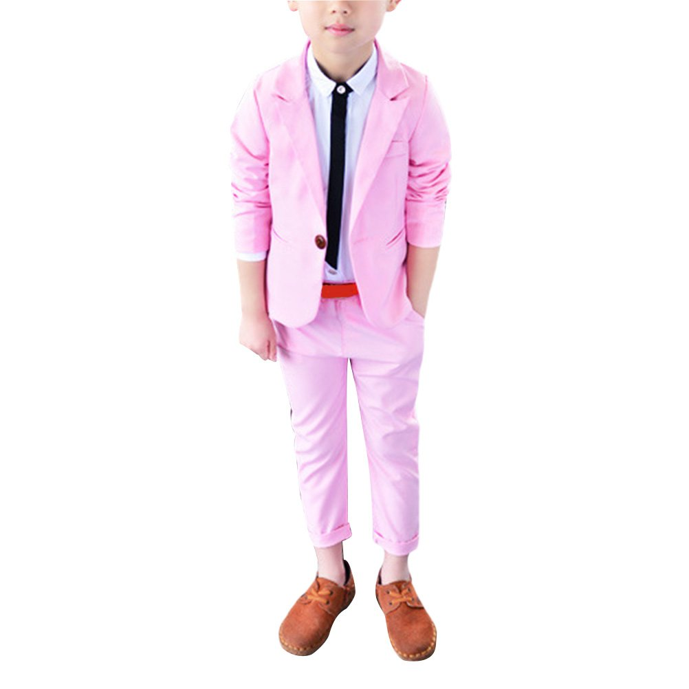 Boys Prom Suit Page Boy Suits Zhhlaixing Boys Color Suit 3-10 Years Boys Wedding Suit