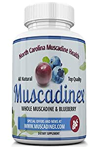 MX2 Cognitive Blend. Brain Health Blend. Blueberry Pterostilbene Plus Muscadine Grape Resveratrol. 500mg x 60 Vegetarian Capsules. Made in US Quality