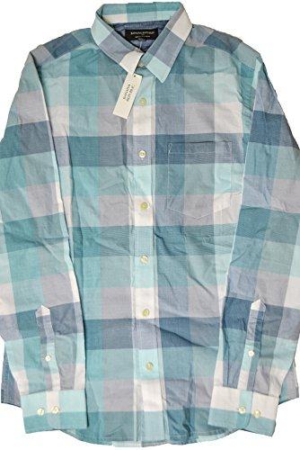 banana-republic-mens-soft-wash-slim-fit-button-down-shirt-mixed-blue-green-large