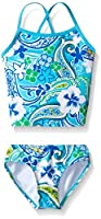 Kanu Surf Little Girls Summer Dream Tankini Swimsuit, Blue, 5