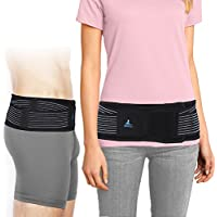 [Sponsored] SI Belt for Women and Men- Sacroiliac Belt for SI Joint Pain Relief, Adjustable SI Joint Belt for Low Back Support Hip and Sciatica Pain, Diamond-Shaped Pressure Provides Compression and Stability