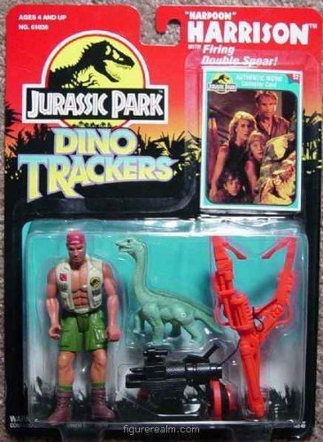 1993 Jurassic Park Dino Trackers Harpoon Harrison