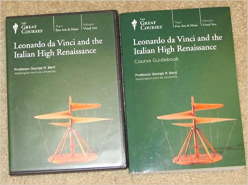 great courses teaching company leonardo da vinci and the italian high renaissance course number 7111 dvd