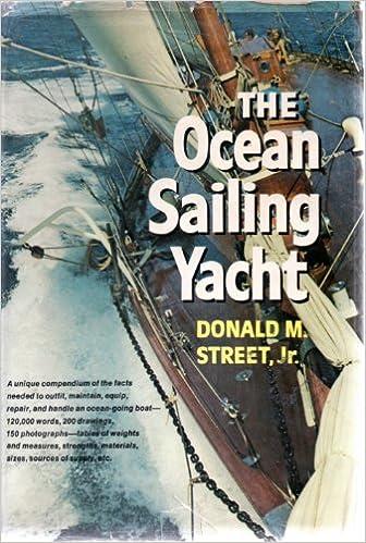 The Ocean Sailing Yacht Donald M Street 9780393031683 Amazon Com