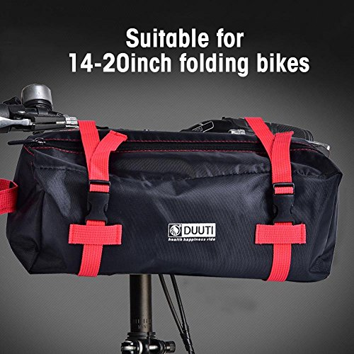 Dilwe Bicycle Carry Bag, Portable Folding 2 Sizes Transport Cover Carrying Case for 14-20in Bikes with Shoulder Strap by Dilwe (Image #4)