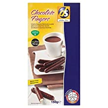 ds gluten free Chocolate Fingers (150g) - Pack of 2