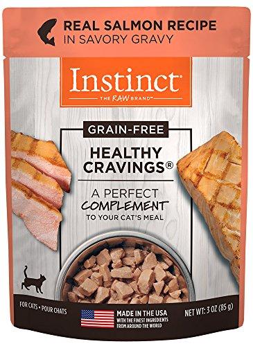 Instinct Healthy Cravings Grain Free Real Salmon Recipe Natu