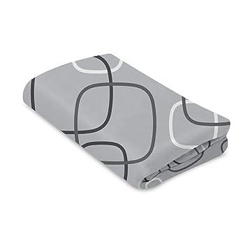 Silver//Grey 4Moms Breeze Playard Sheet Universal