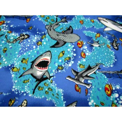 SheetWorld Fitted Pack N Play (Graco Square Playard) Sheet – Sea Life – Made In USA