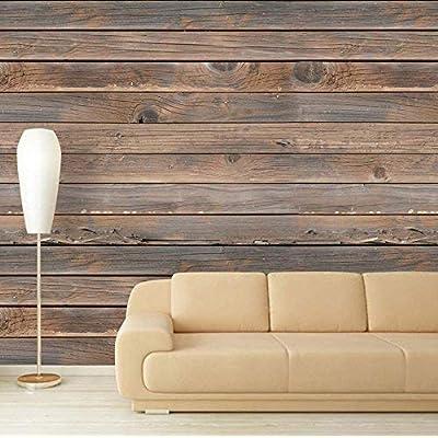 Large Wall Mural Seamless Wood Pattern Vinyl Wallpaper...