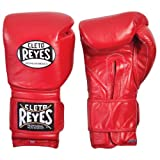 Cleto Reyes Safety Sparring Gloves, 16-Ounce, Red