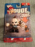 Tech Deck Dude Zoods Crew z2 Series (2006) #055 Jack Figurine and Brandon Zood with Finger Board