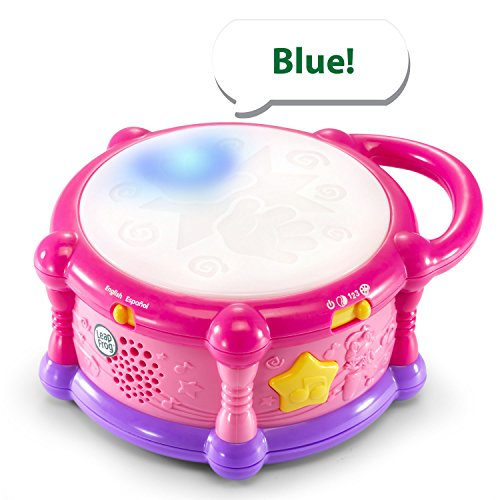 51ae2hyLfcL - LeapFrog Learn & Groove Color Play Drum Bilingual, Pink (Amazon Exclusive)