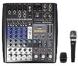 live sound equipment mixers - PRESONUS StudioLive AR8 USB Hybrid Live Sound/Studio Recording Mixer + Blue Mic