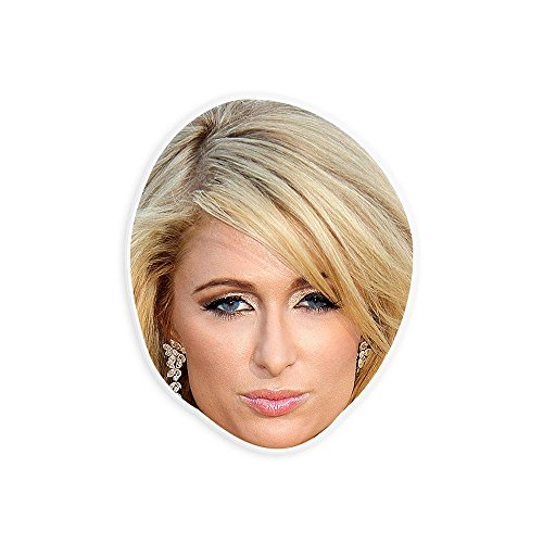Paris Hilton Halloween Costumes (Cool Paris Hilton Mask - Perfect for Halloween, Masquerade, Parties, Events, Festivals, Concerts - Jumbo Size Waterproof)