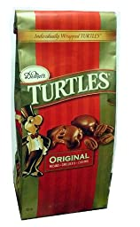 Demet\'s Turtles Original, Pecans~Chocolate~Caramel, 17.5-Ounce