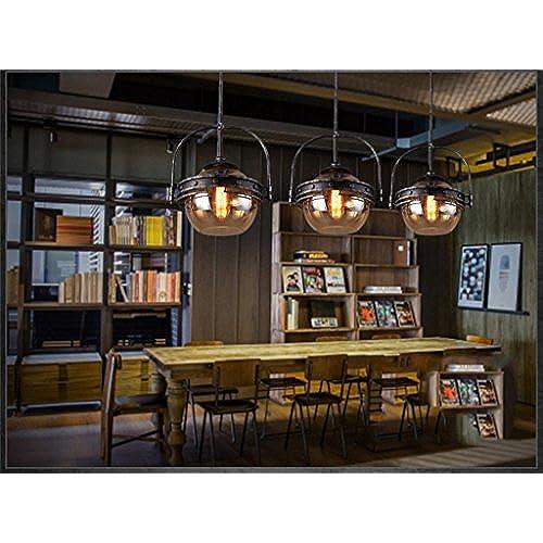 Jeune Lustre de mode-WXP Lustre rétro nordique Creative Restaurant Café VV-83