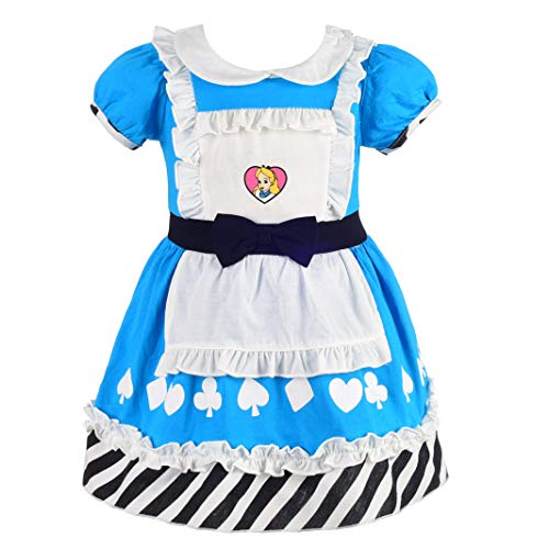 Dressy Daisy Girls Princess Alice Dress Up Costume for Toddler Girls Size 4T]()