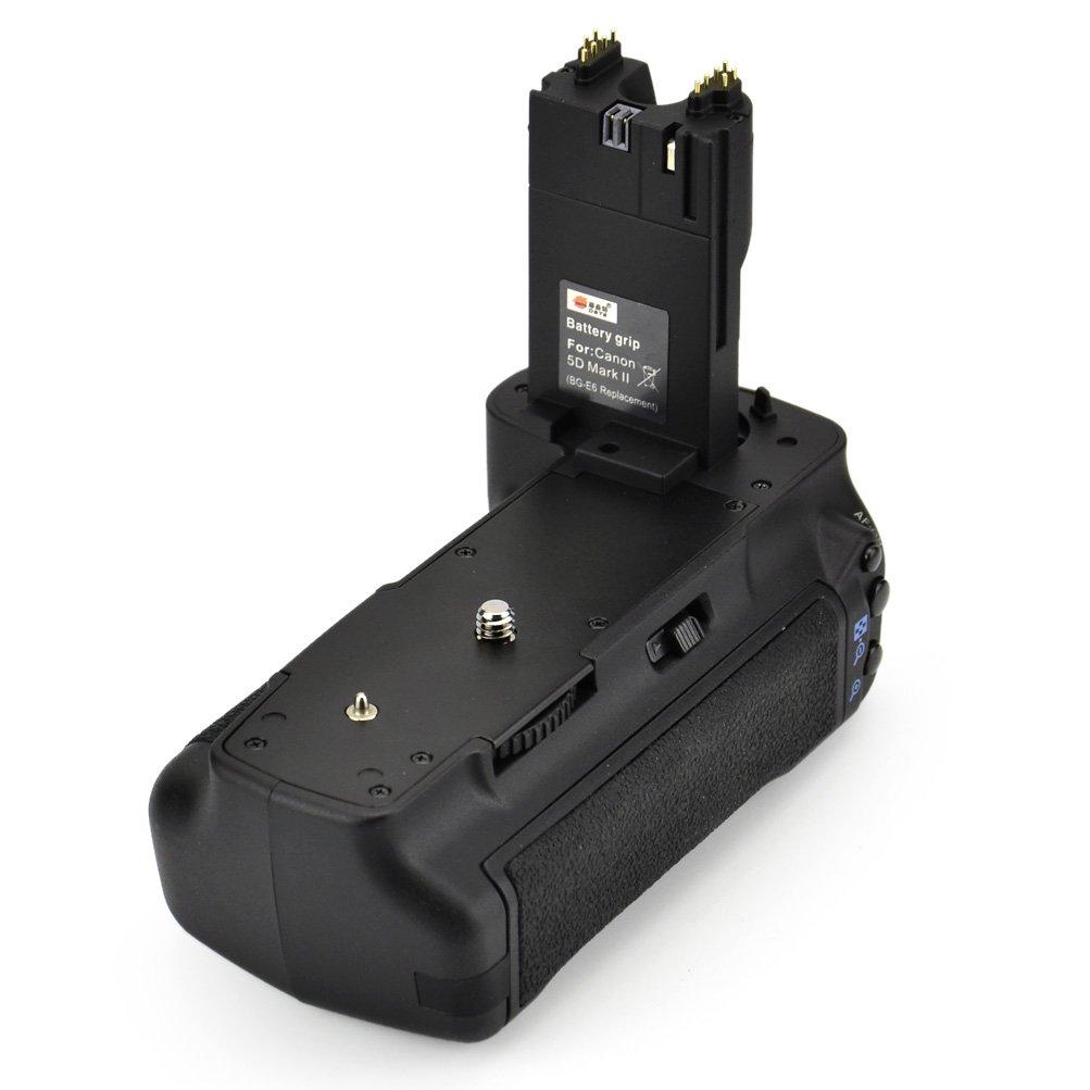 Amazon. Com: dste pro bg-e6 vertical battery grip + 2x lp-e6 lp.