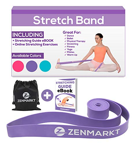 7617360eddc7 Stretch Bands for Dancers and Gymnasts - Exercise Bands for Dance, Ballet,  Gymnastics,