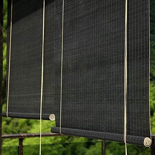 すだれ パーゴラローラーブラインド、フィッティング付き外側マウントローラーシェード、プライバシー装飾カーテン、80cm / 100cm / 120cm / 140cmワイド (Size : W 120×H 190cm)
