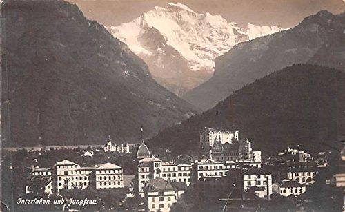 Interlaken Real Photo Italy Postcard