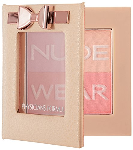 Physicians Formula Nude Wear Glowing Nude Blush, Rose, 0.17 Ounce