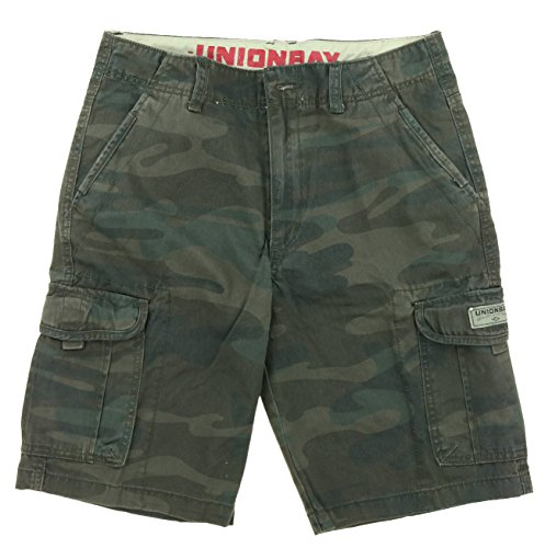 Unionbay Men's Cargo Short-Army Camo, - Cargo Store Outlet