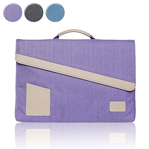 Laptop 13.3 Inch Briefcase Sleeve Cover with Handle Carrying