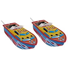 MagiDeal 2Pcs Vintage Pop Pop Boat Steam/Candle Powered Put Put Boat Collectible/Gift