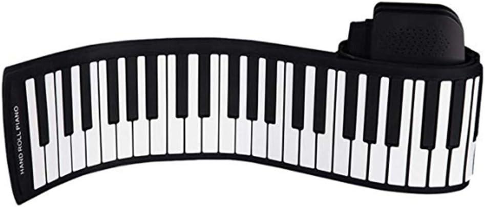 YBDKSN Teclado Portátil De 88 Teclas Enrollables Piano De ...