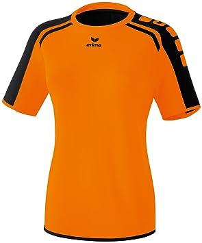 erima Camiseta para Mujer, Naranja (Orange/Schwarz), 40