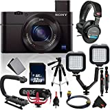 Sony Cyber-shot DSC-RX100 III Digital Camera International Version (No Warranty) Vlogger Starter Kit Bundle
