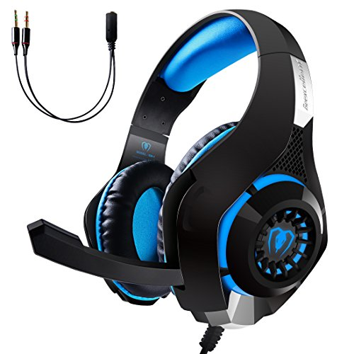 Price comparison product image EOWJEED Gaming Headset,  LED Light Headset for PS4 PSP Xbox one Tablet iPhone Ipad Samsung Smartphone