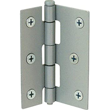 Prime Line Products K 5038 Screen Door Hinge Steel, Grey,(Pack Of 2)